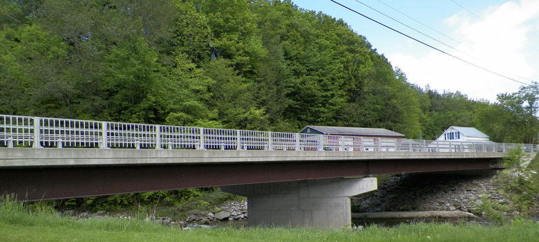 East Street Bridge, Huntington, VT