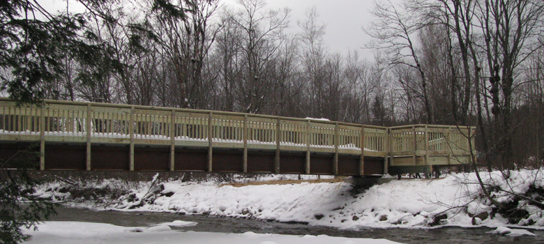 Robert Frost Trail Bridge, Ripton, VT